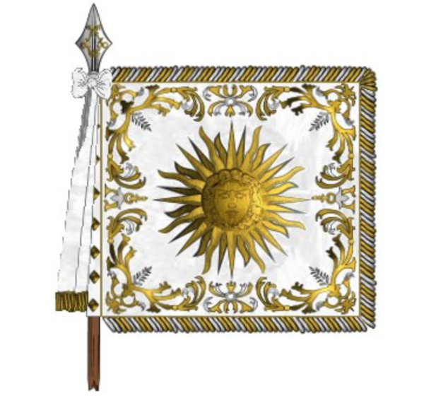"Standard of the ""Scottish company"", the 1st company of the Royal Garde du Corps"